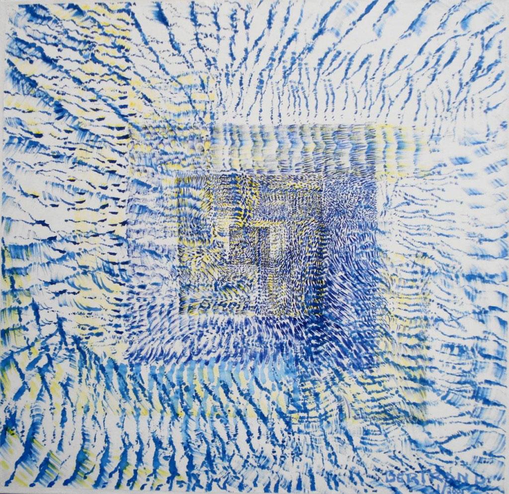 Encres sur papier 95 x 95 cm